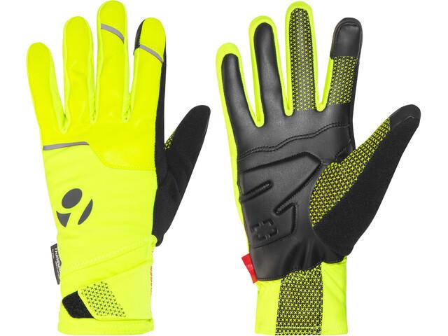 Bontrager Velocis S1 Softshell Gloves Unisex Visibility Yellow